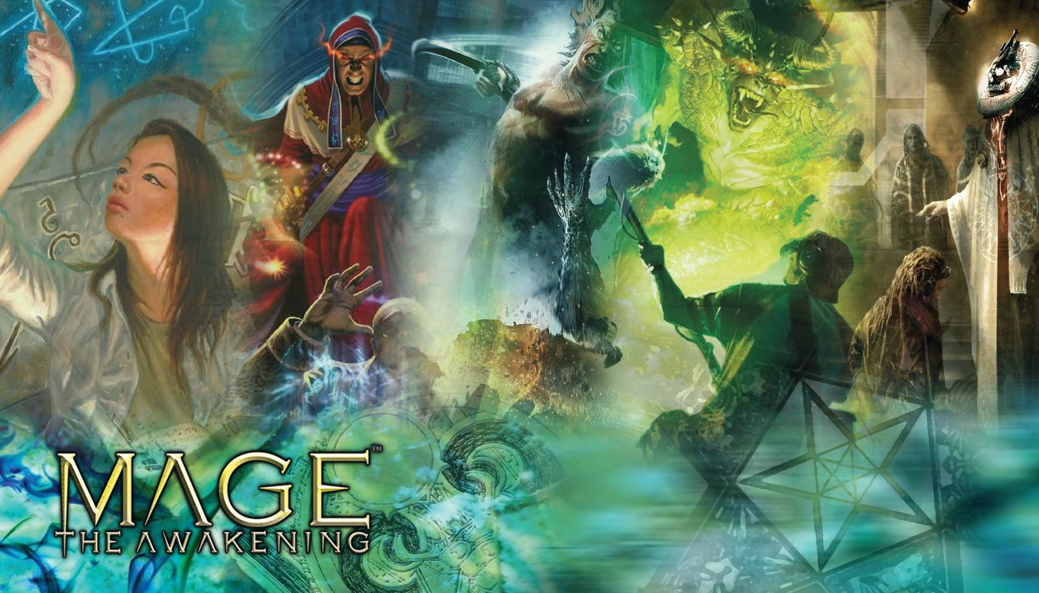Mage the Awakening : A Storytelling Game of Modern Sorcery (2005, Hardcover)